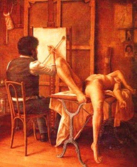 El pintor y su modelo