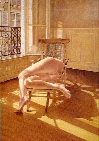Desnudo en interior