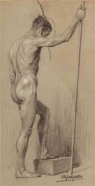 Back Nude Man